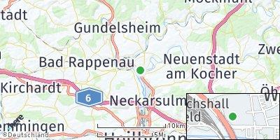 Google Map of Bad Friedrichshall