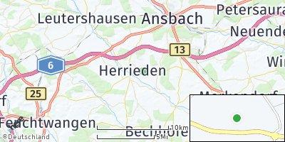 Google Map of Herrieden