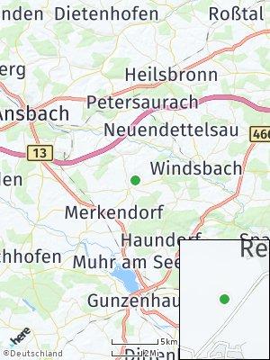 Here Map of Wolframs-Eschenbach
