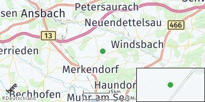 Google Map of Wolframs-Eschenbach