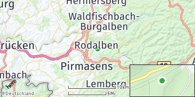 Google Map of Rodalben
