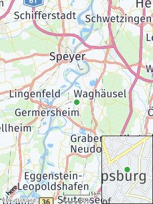 Here Map of Philippsburg