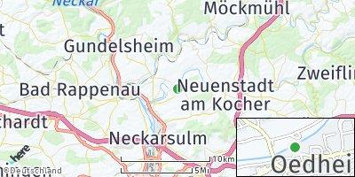 Google Map of Oedheim