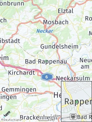 Here Map of Bad Rappenau