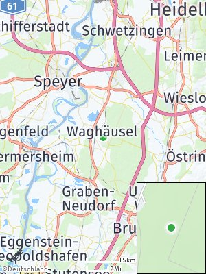 Here Map of Waghäusel