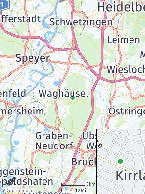 Here Map of Kirrlach