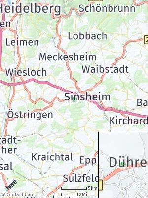 Here Map of Dühren