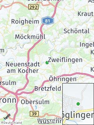 Here Map of Möglingen
