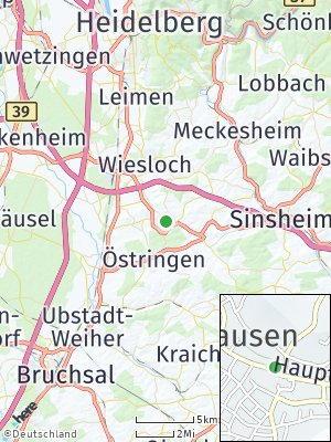 Here Map of Mühlhausen