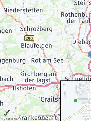 Here Map of Rot am See