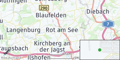 Google Map of Rot am See