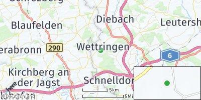 Google Map of Wettringen