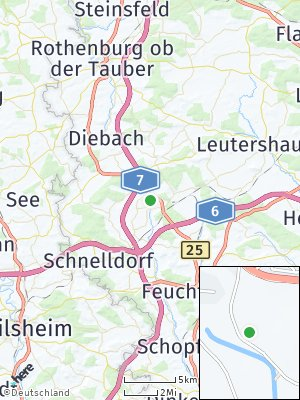 Here Map of Wörnitz