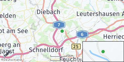 Google Map of Wörnitz