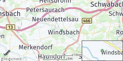 Google Map of Windsbach