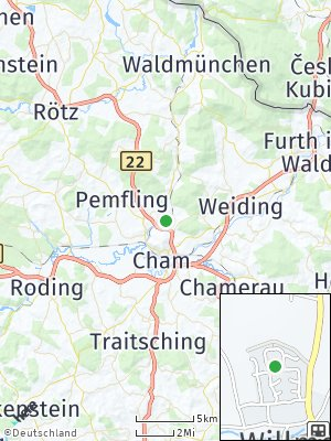 Here Map of Willmering