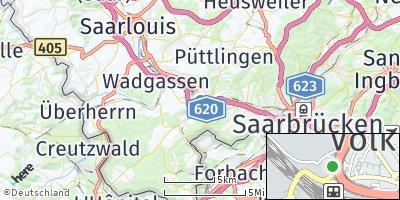 Google Map of Völklingen
