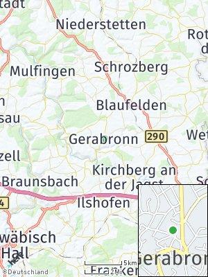 Here Map of Gerabronn