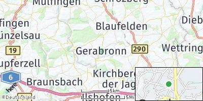 Google Map of Gerabronn
