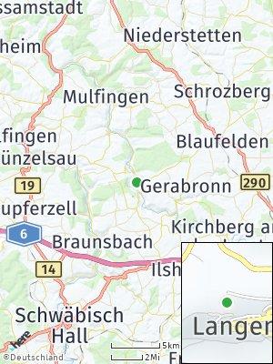 Here Map of Langenburg
