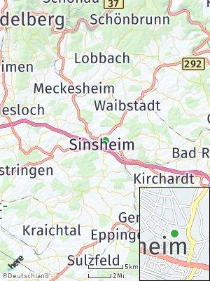 Here Map of Sinsheim