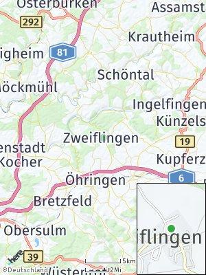 Here Map of Zweiflingen