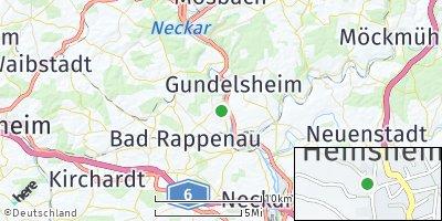 Google Map of Heinsheim