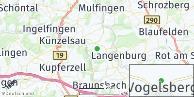 Google Map of Vogelsberg