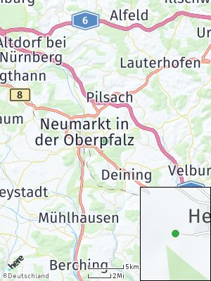 Here Map of Höhenberg