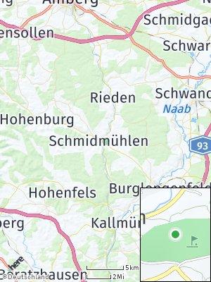 Here Map of Schmidmühlen