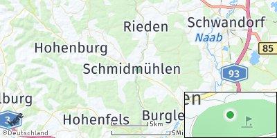 Google Map of Schmidmühlen
