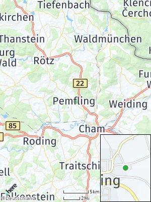Here Map of Pemfling