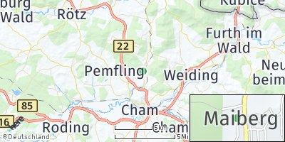Google Map of Waffenbrunn