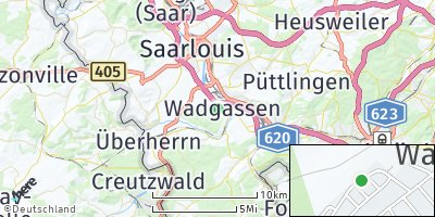 Google Map of Wadgassen