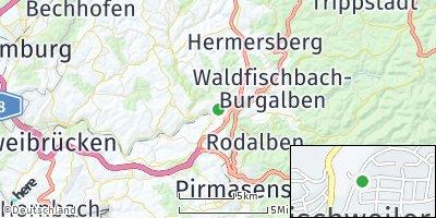 Google Map of Thaleischweiler-Fröschen