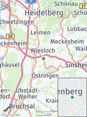 Here Map of Rauenberg