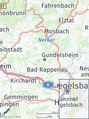 Here Map of Siegelsbach