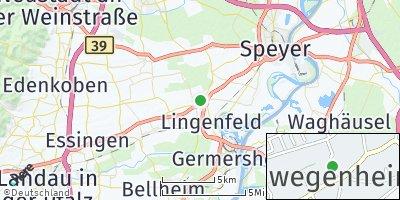 Google Map of Schwegenheim