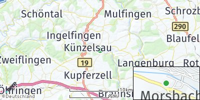 Google Map of Morsbach