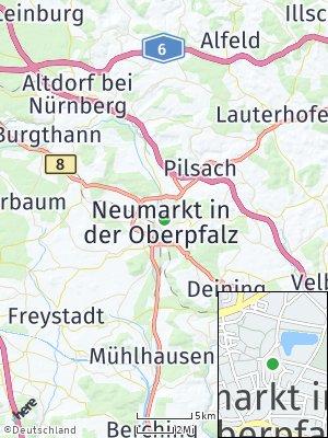 Here Map of Neumarkt