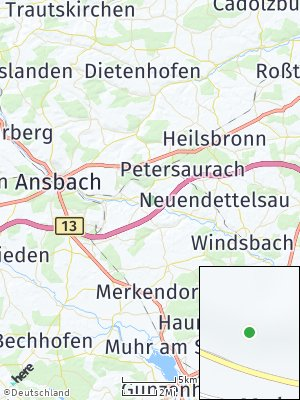 Here Map of Lichtenau