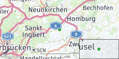 Google Map of Kirkel