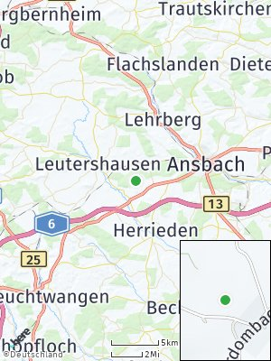 Here Map of Oberdombach