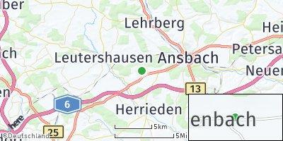 Google Map of Liegenbach