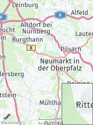 Here Map of Rittershof