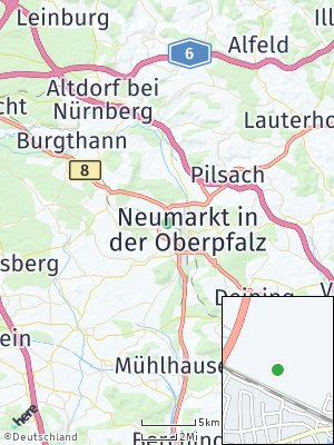Here Map of Woffenbach
