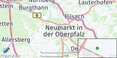 Google Map of Woffenbach