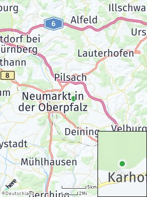 Here Map of Karhof