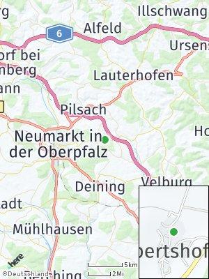 Here Map of Lippertshofen
