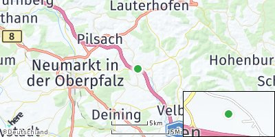 Google Map of Frickenhofen